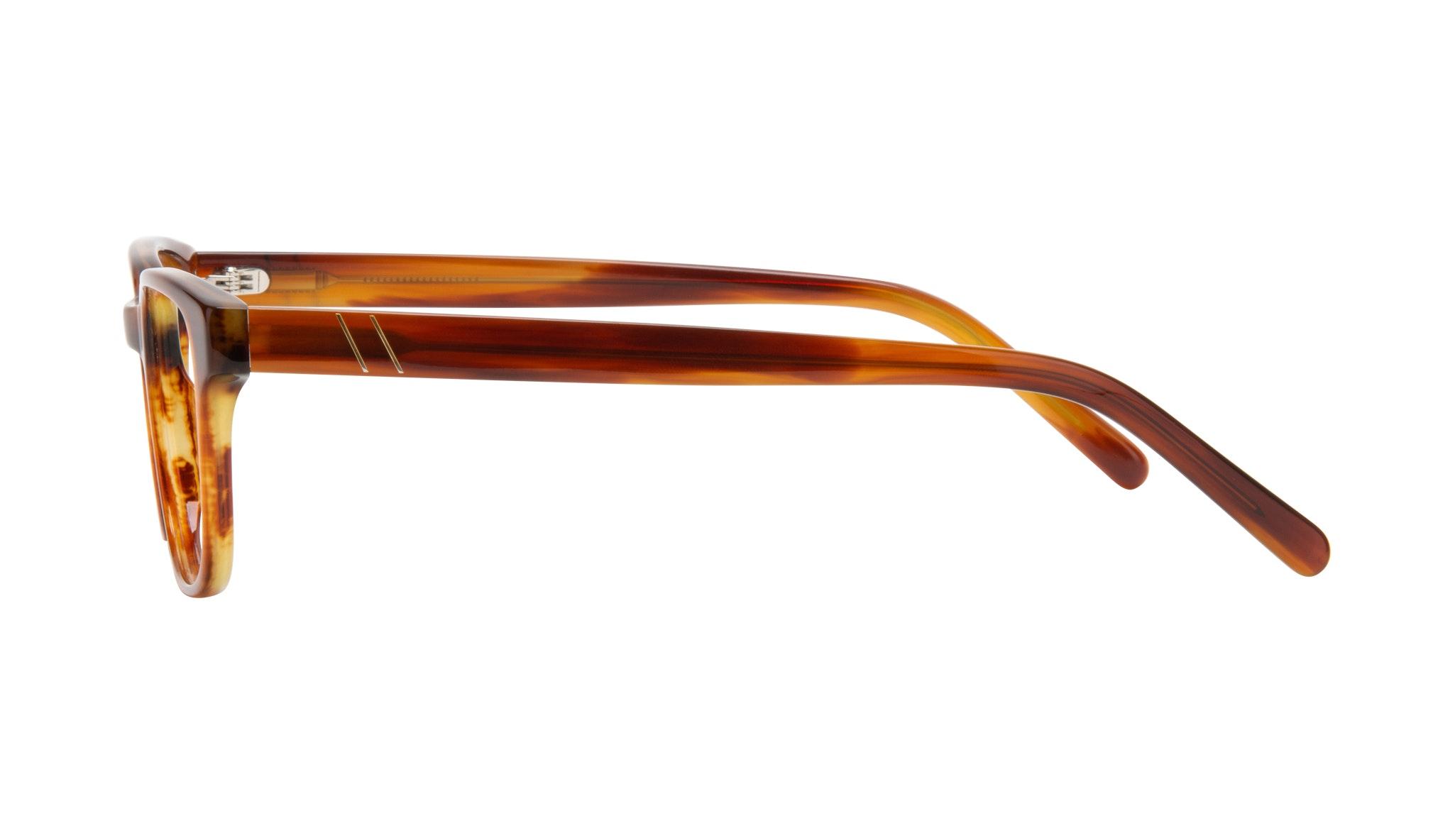 Affordable Fashion Glasses Square Eyeglasses Men Role Havana Side