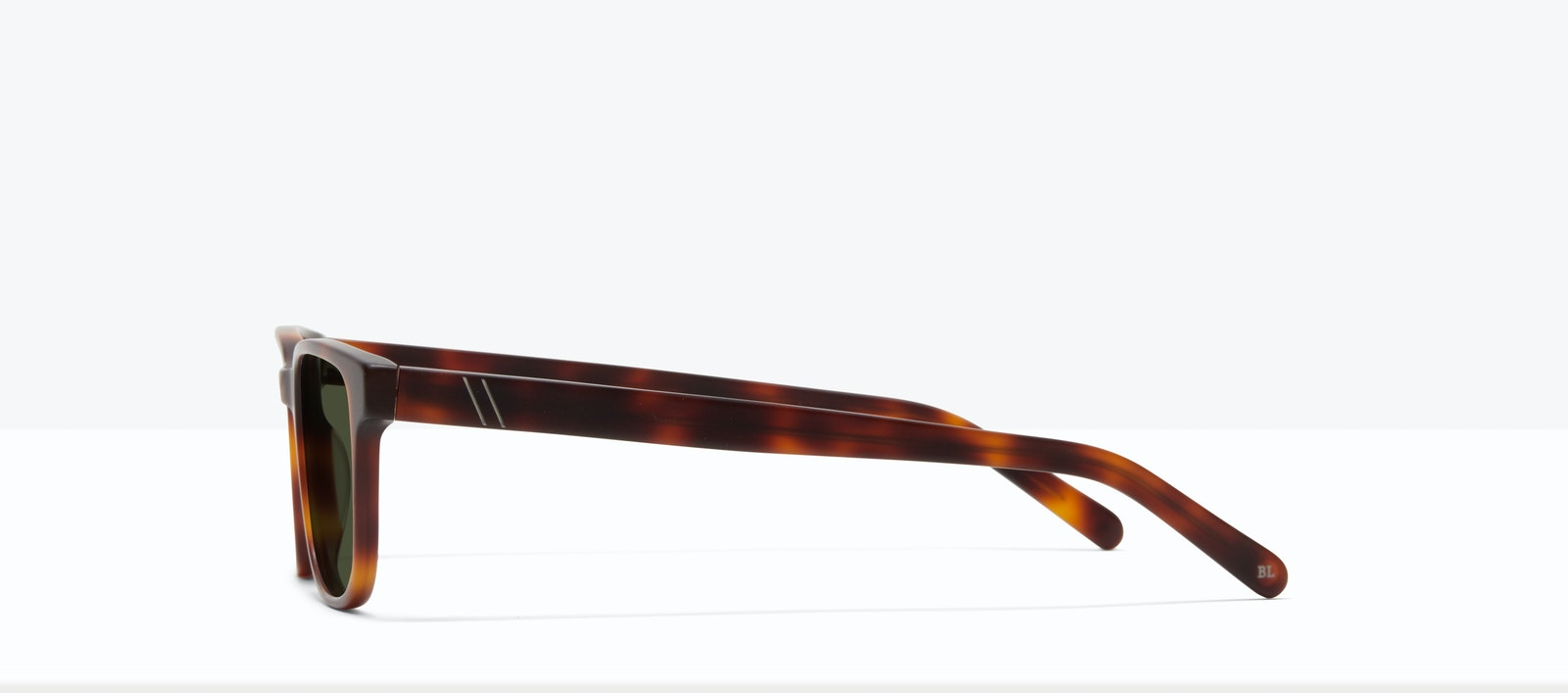 Affordable Fashion Glasses Square Sunglasses Men Role L Matte Tort Side