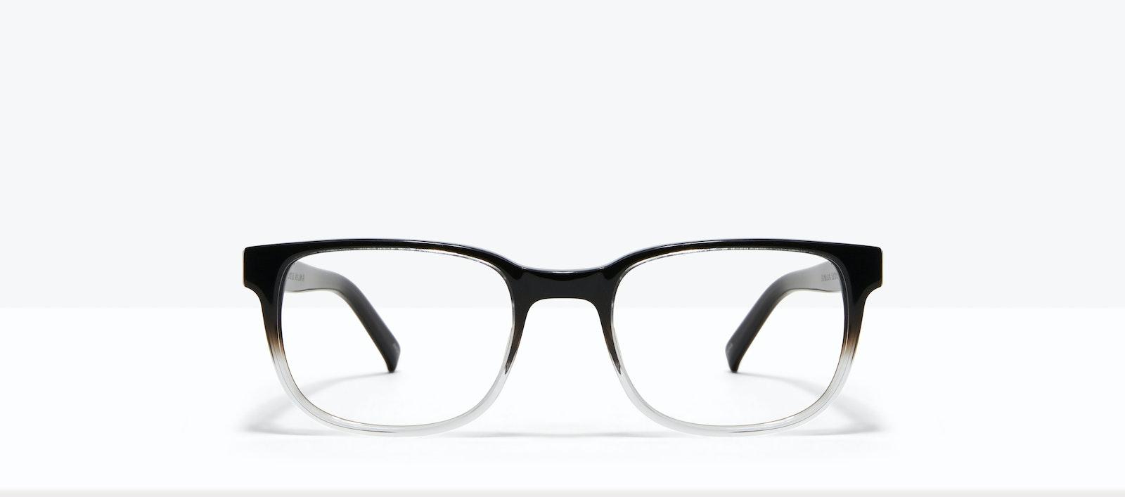 Lunettes tendance Carrée Lunettes de vue Hommes Role Onyx Clear Face