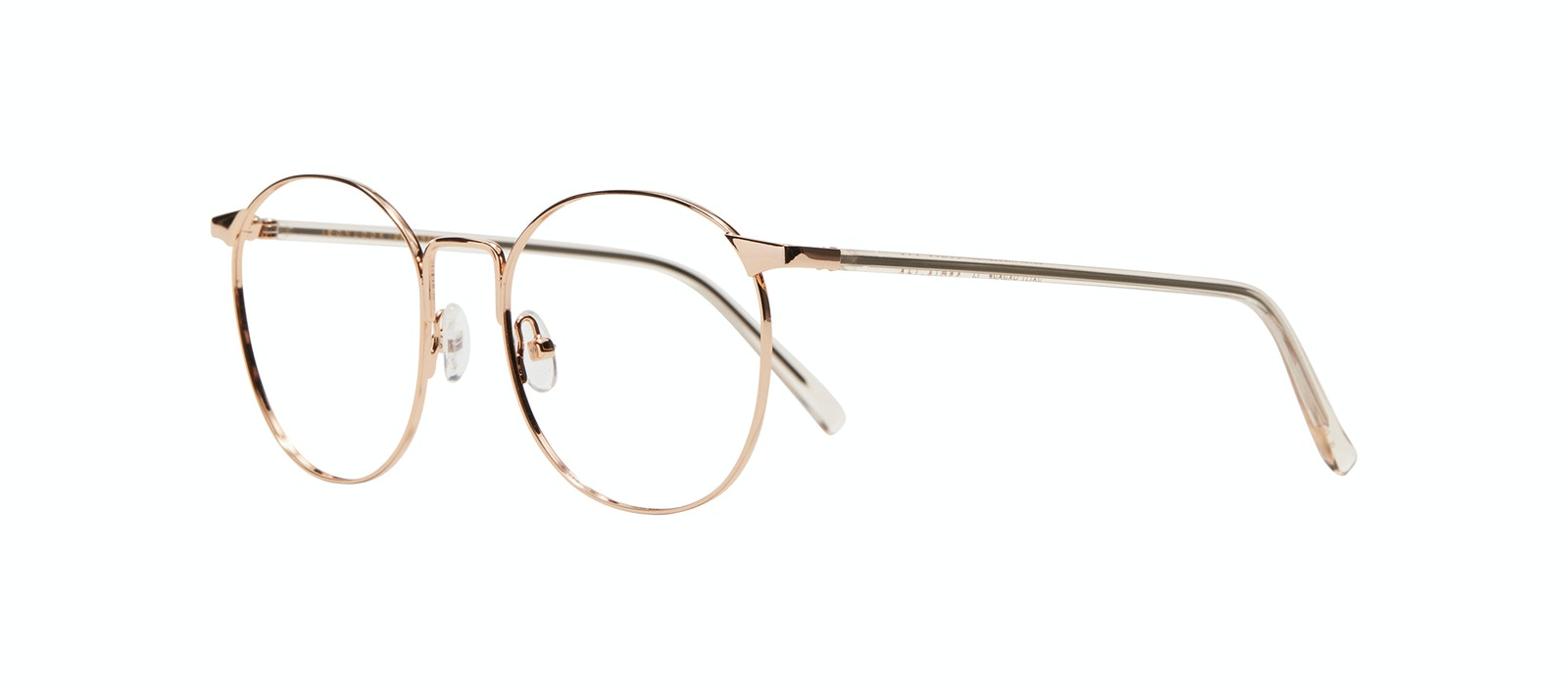 Affordable Fashion Glasses Round Eyeglasses Women Romy Petite Aurore Tilt