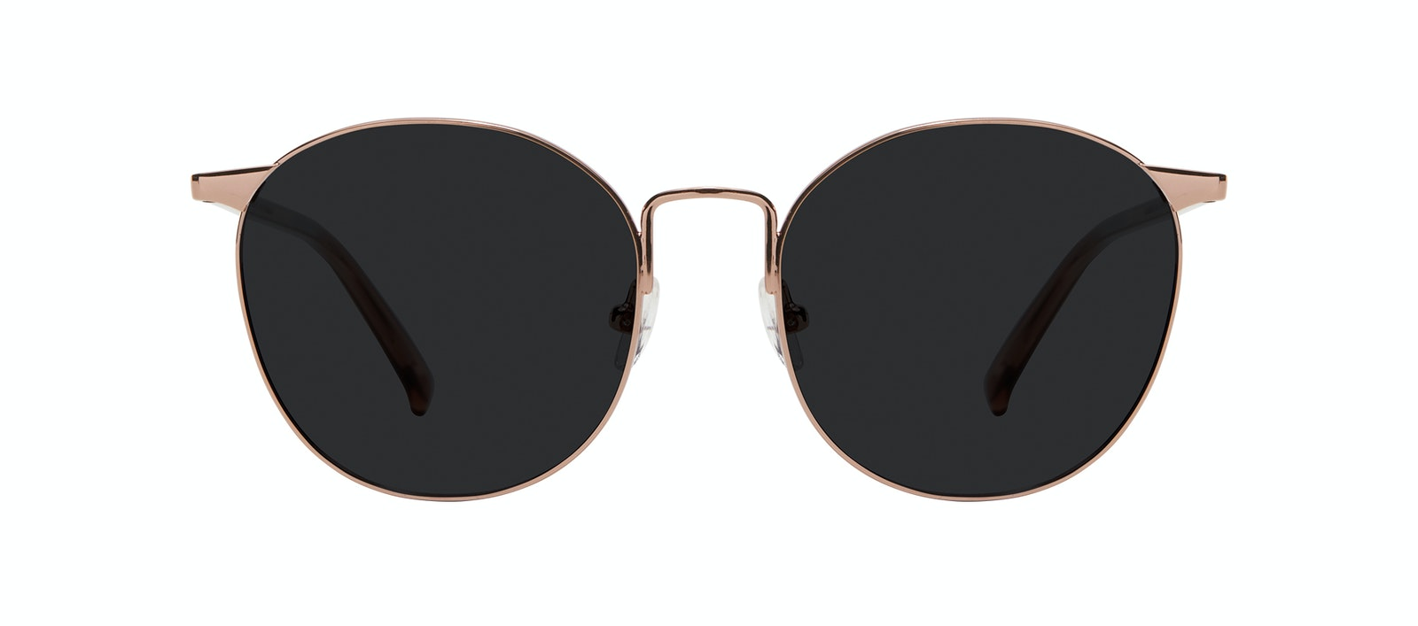 Affordable Fashion Glasses Round Sunglasses Women Romy Petite Crepuscule Front