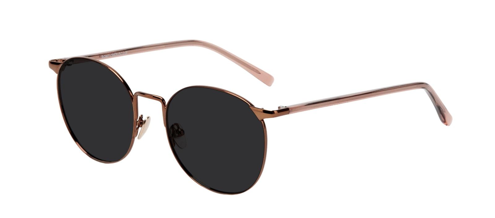 Affordable Fashion Glasses Round Sunglasses Women Romy Crepuscule Tilt