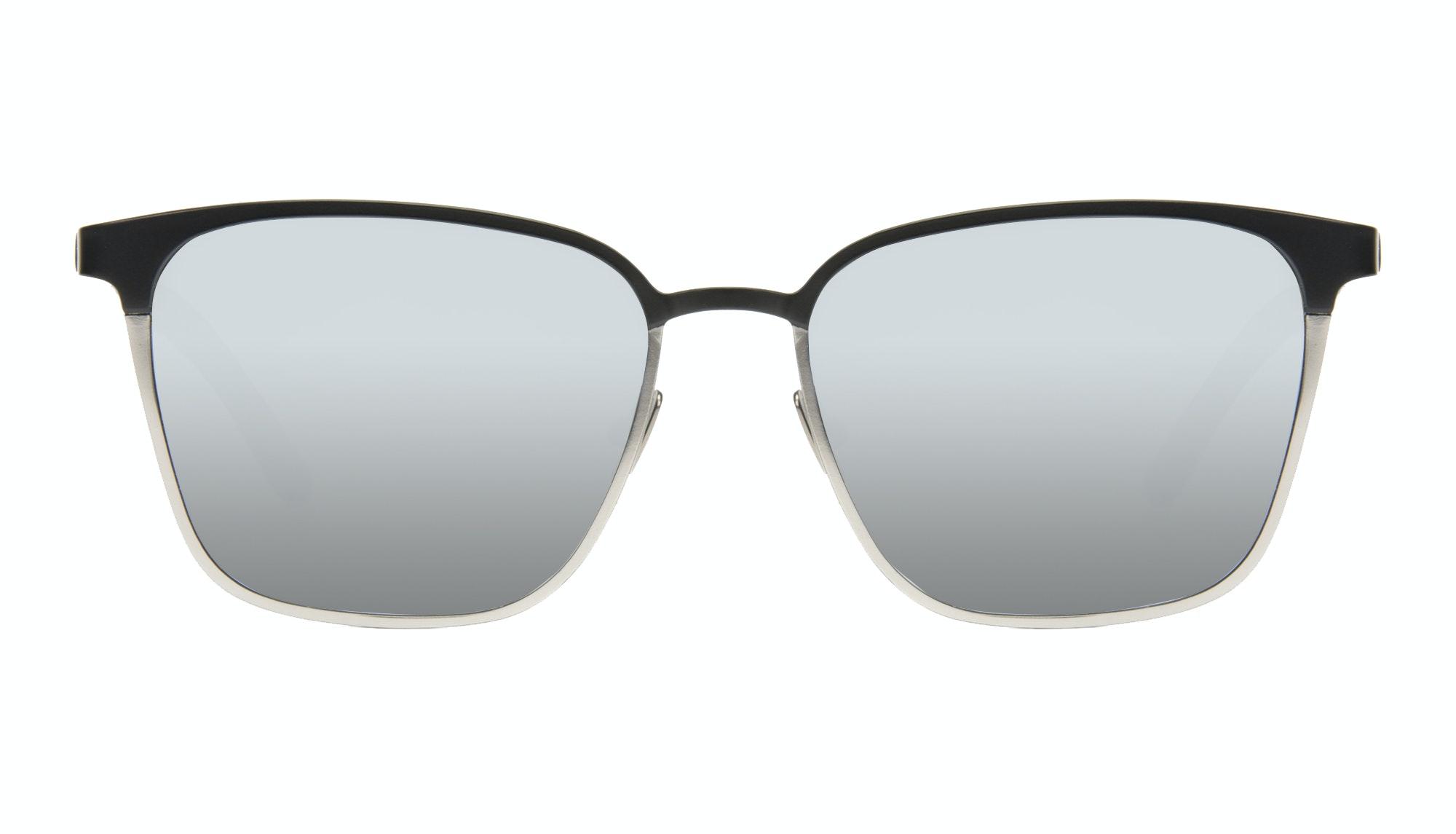 Affordable Fashion Glasses Rectangle Sunglasses Men Rove Deep Silver