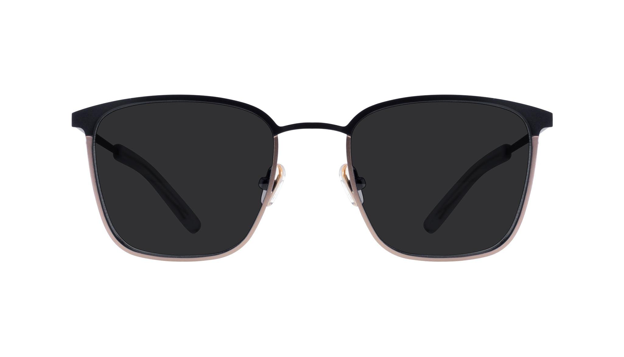 Affordable Fashion Glasses Rectangle Sunglasses Men Rove Deep Gold