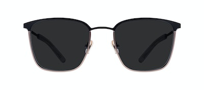 Affordable Fashion Glasses Rectangle Sunglasses Men Rove Deep Gold Front