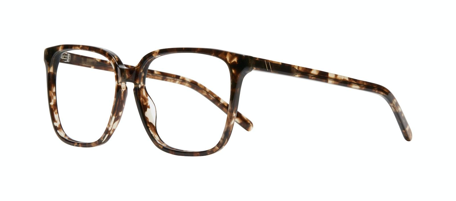 Affordable Fashion Glasses Square Eyeglasses Women Runway L Leopard Tilt