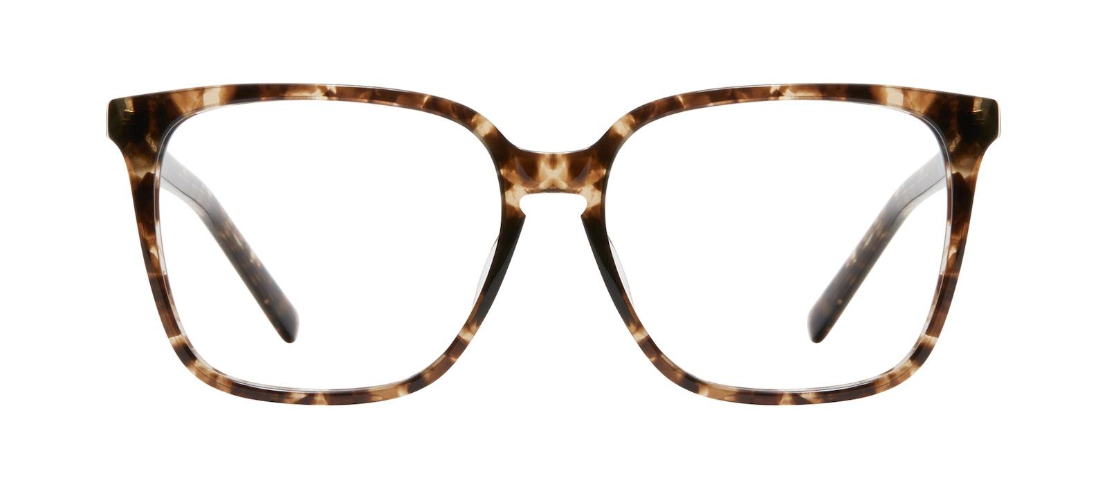 Affordable Fashion Glasses Square Eyeglasses Women Runway L Leopard Front