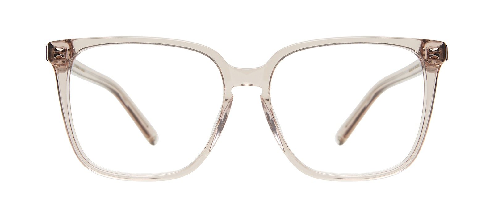 Affordable Fashion Glasses Square Eyeglasses Women Runway Sand Front