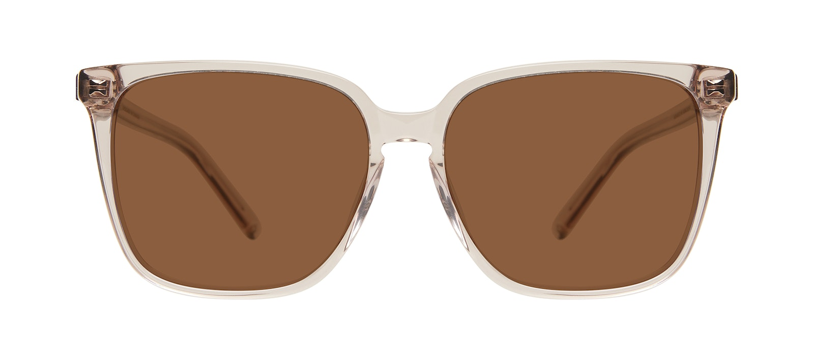 Affordable Fashion Glasses Square Sunglasses Women Runway Sand Front