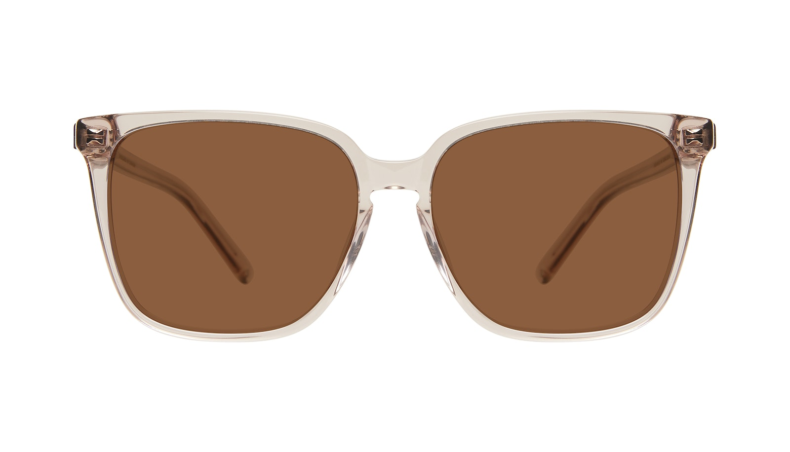 Affordable Fashion Glasses Square Sunglasses Women Runway Sand