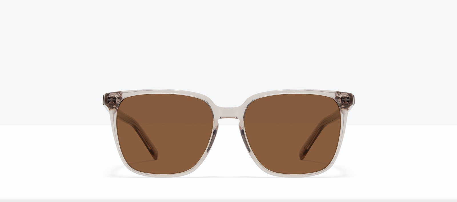 Affordable Fashion Glasses Square Sunglasses Women Runway S Sand Front