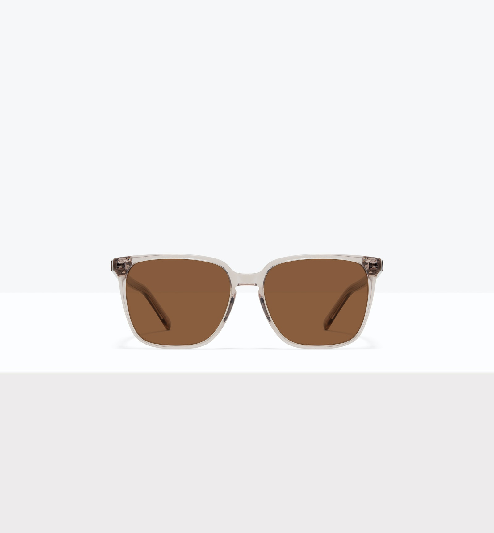 Affordable Fashion Glasses Square Sunglasses Women Runway S Sand