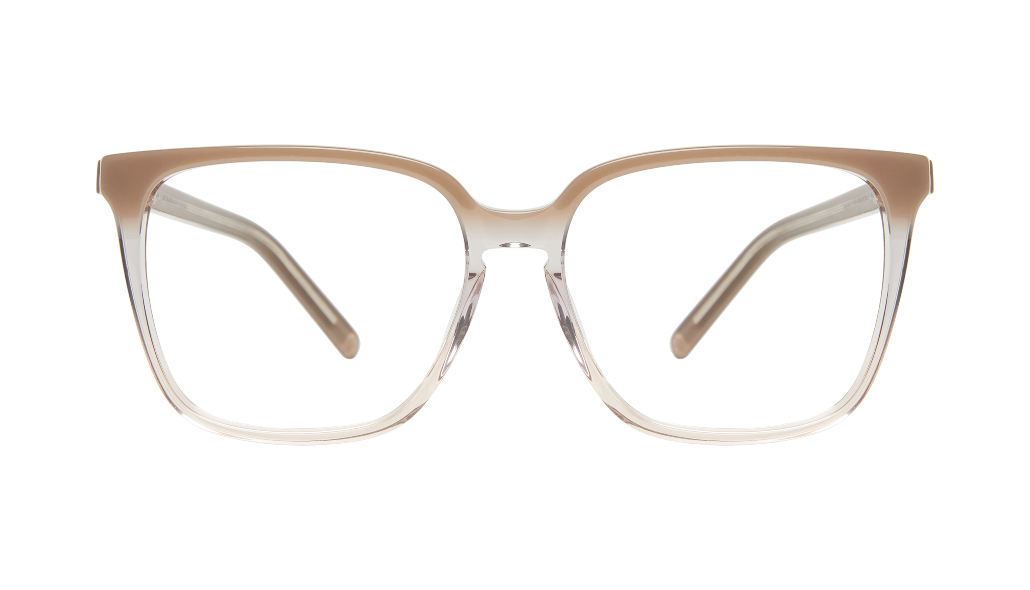 Pink Women High Fashion Runway Cropped Exposed Lens Cat Eye Optical Glasses