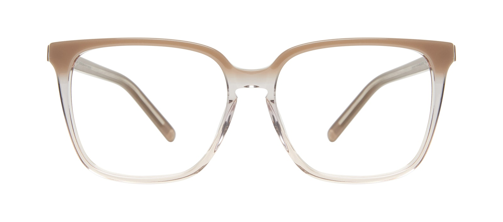 Affordable Fashion Glasses Square Eyeglasses Women Runway Smokey Ombré Front
