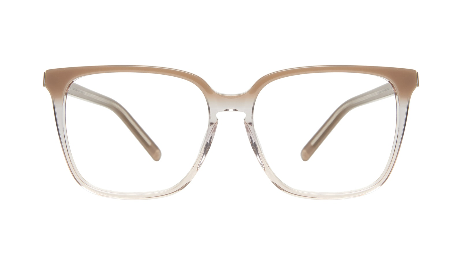 Affordable Fashion Glasses Square Eyeglasses Women Runway Smokey Ombré