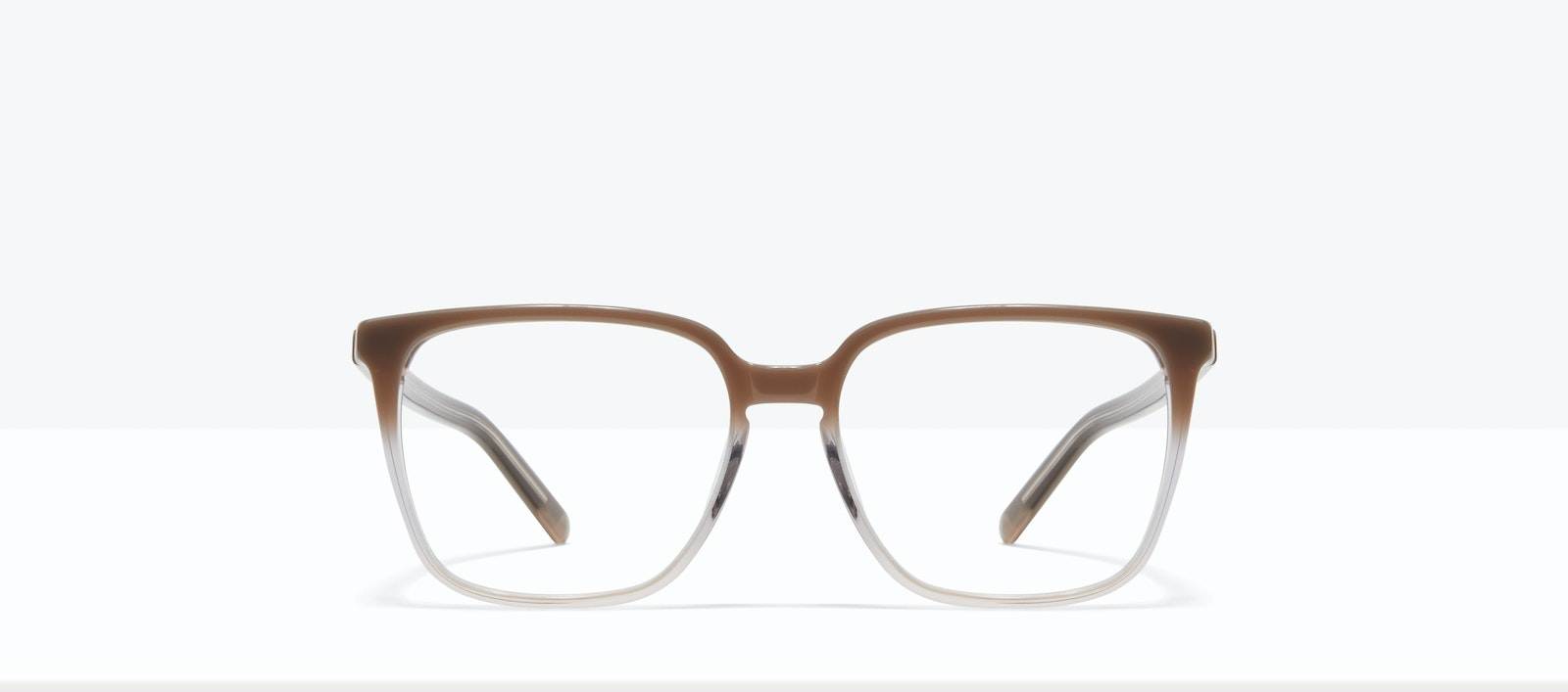 Affordable Fashion Glasses Square Eyeglasses Women Runway S Smokey Ombré Front