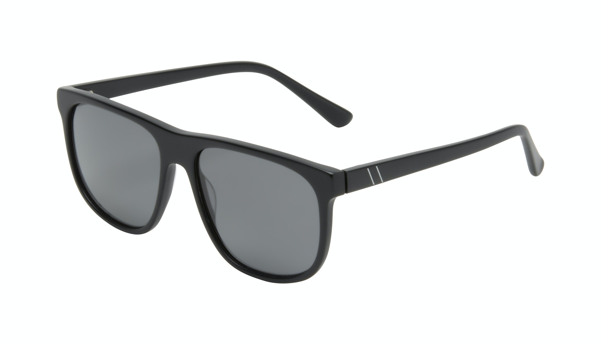 Affordable Fashion Glasses Square Sunglasses Men Rush Onyx Matte Tilt