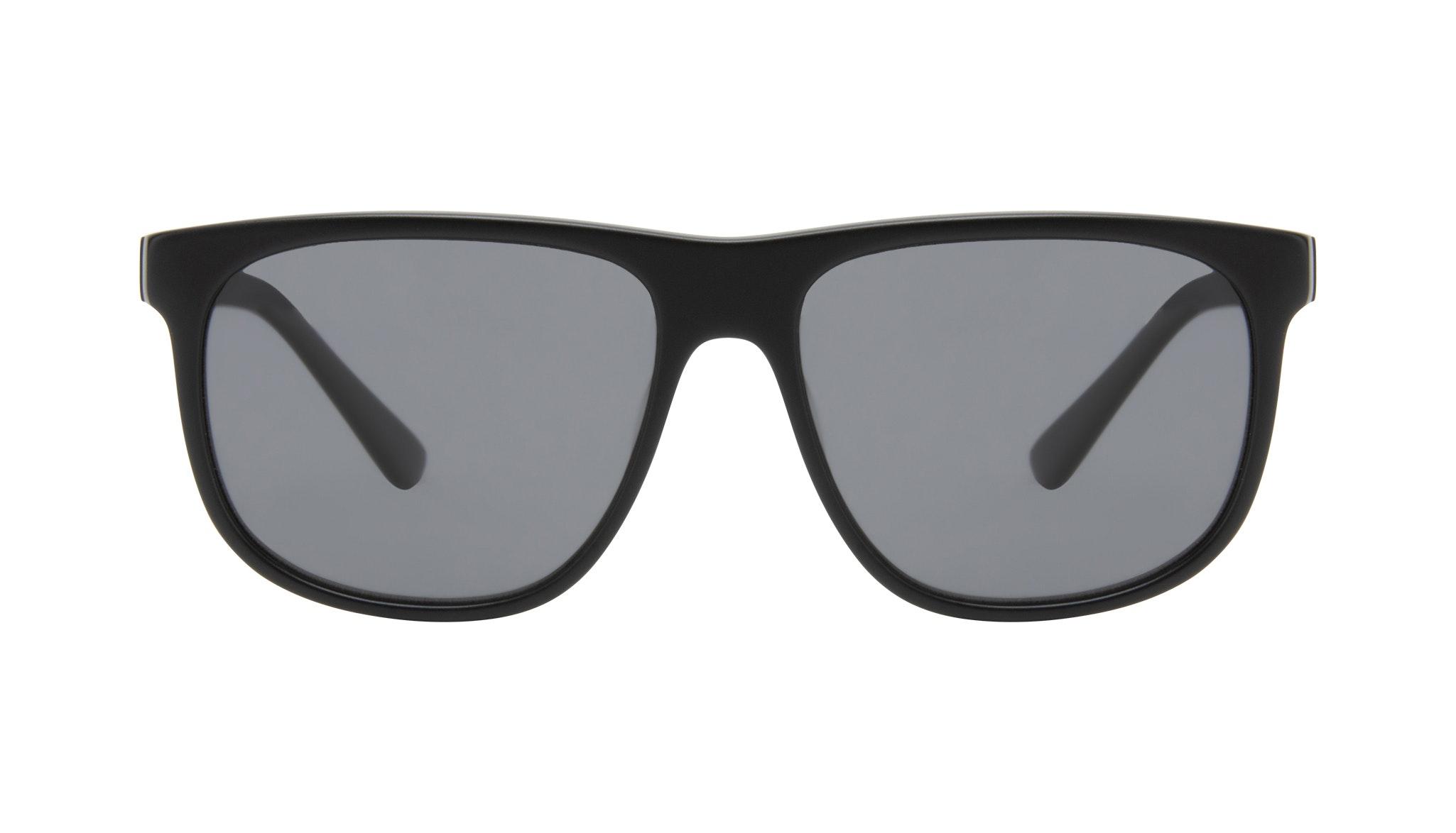 Affordable Fashion Glasses Square Sunglasses Men Rush Onyx Matte Front