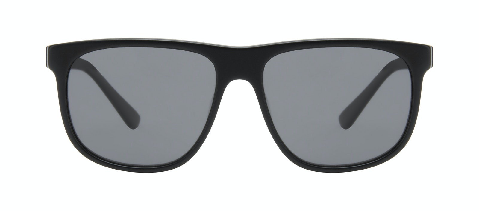 Affordable Fashion Glasses Square Sunglasses Men Rush Onyx Matte Front
