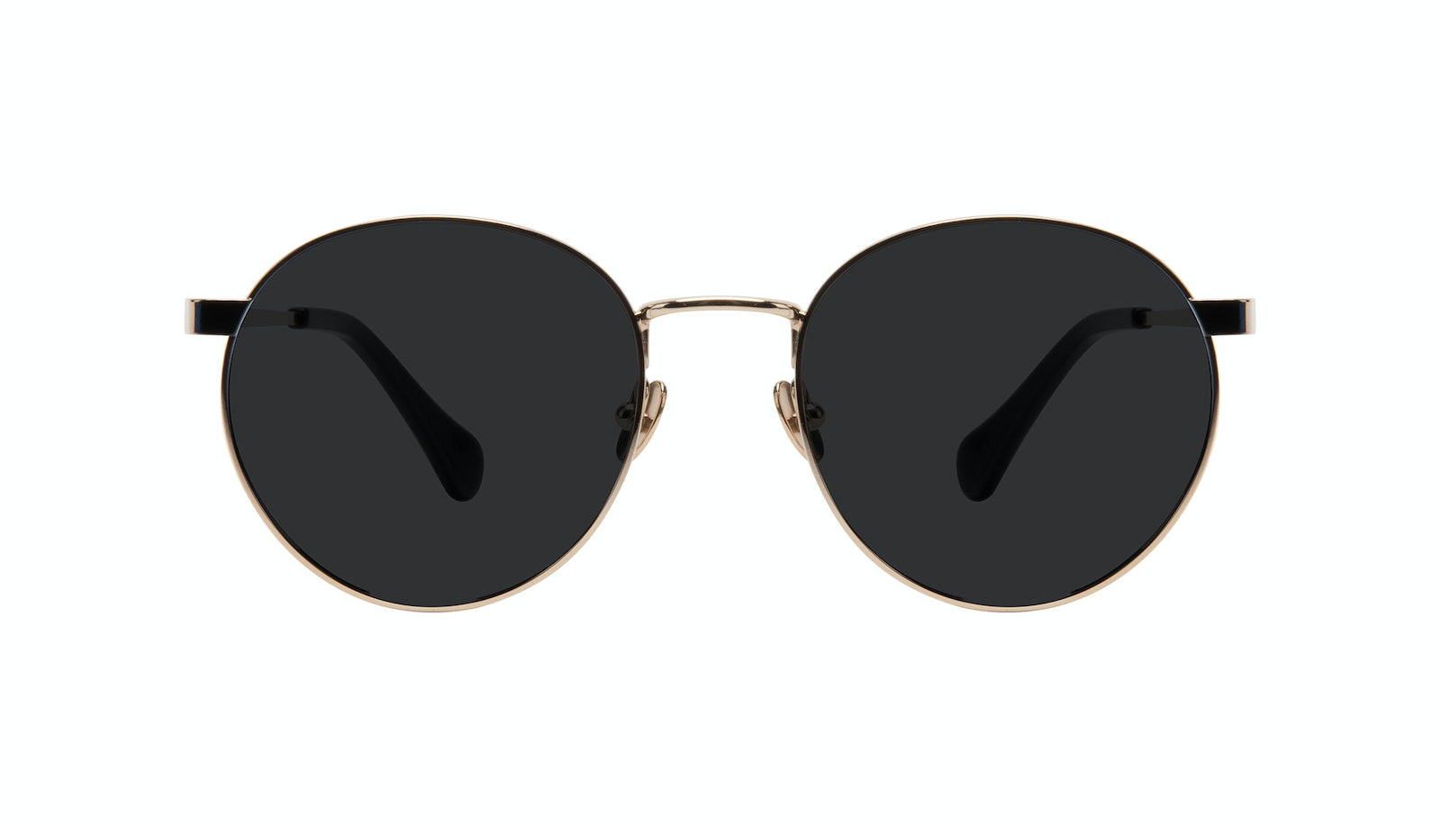 Affordable Fashion Glasses Round Sunglasses Women Foundry Deep Gold