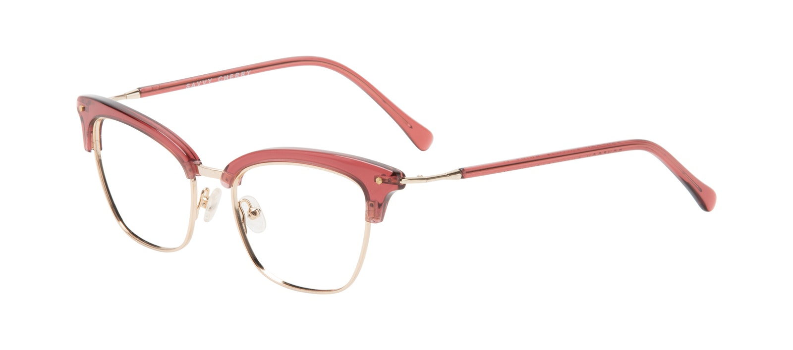 Affordable Fashion Glasses Cat Eye Eyeglasses Women Savvy Cherry Tilt