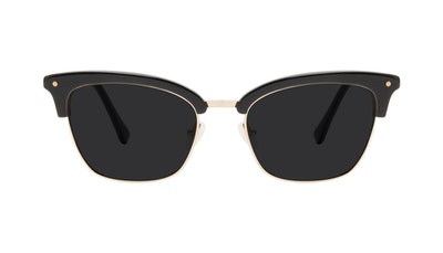 Affordable Fashion Glasses Cat Eye Sunglasses Women Savvy Ebony Front