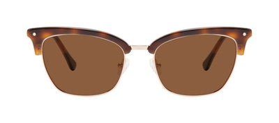 Affordable Fashion Glasses Cat Eye Sunglasses Women Savvy Tortoise Front