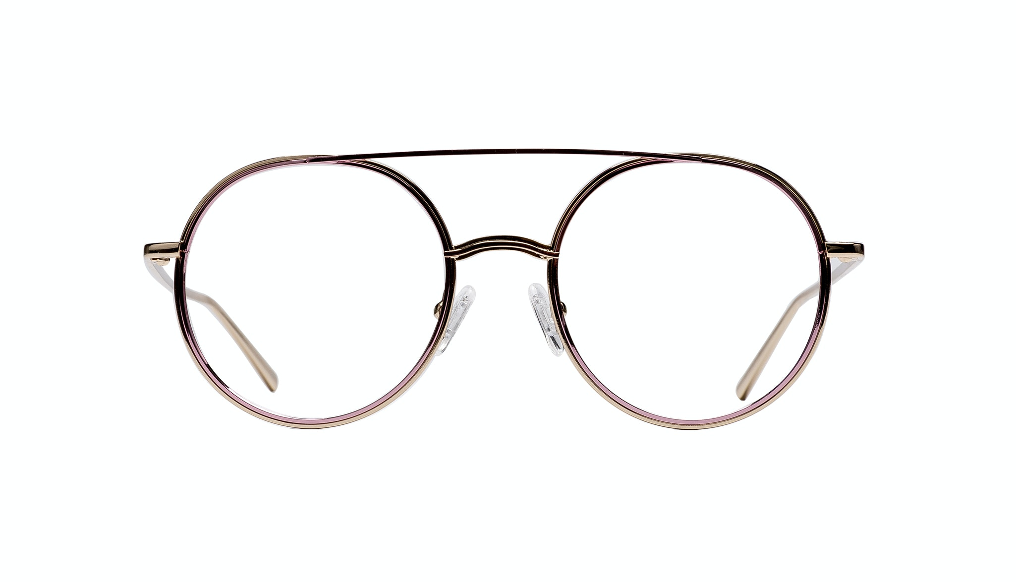 Affordable Fashion Glasses Aviator Eyeglasses Women Scarborough 2 Chains Front
