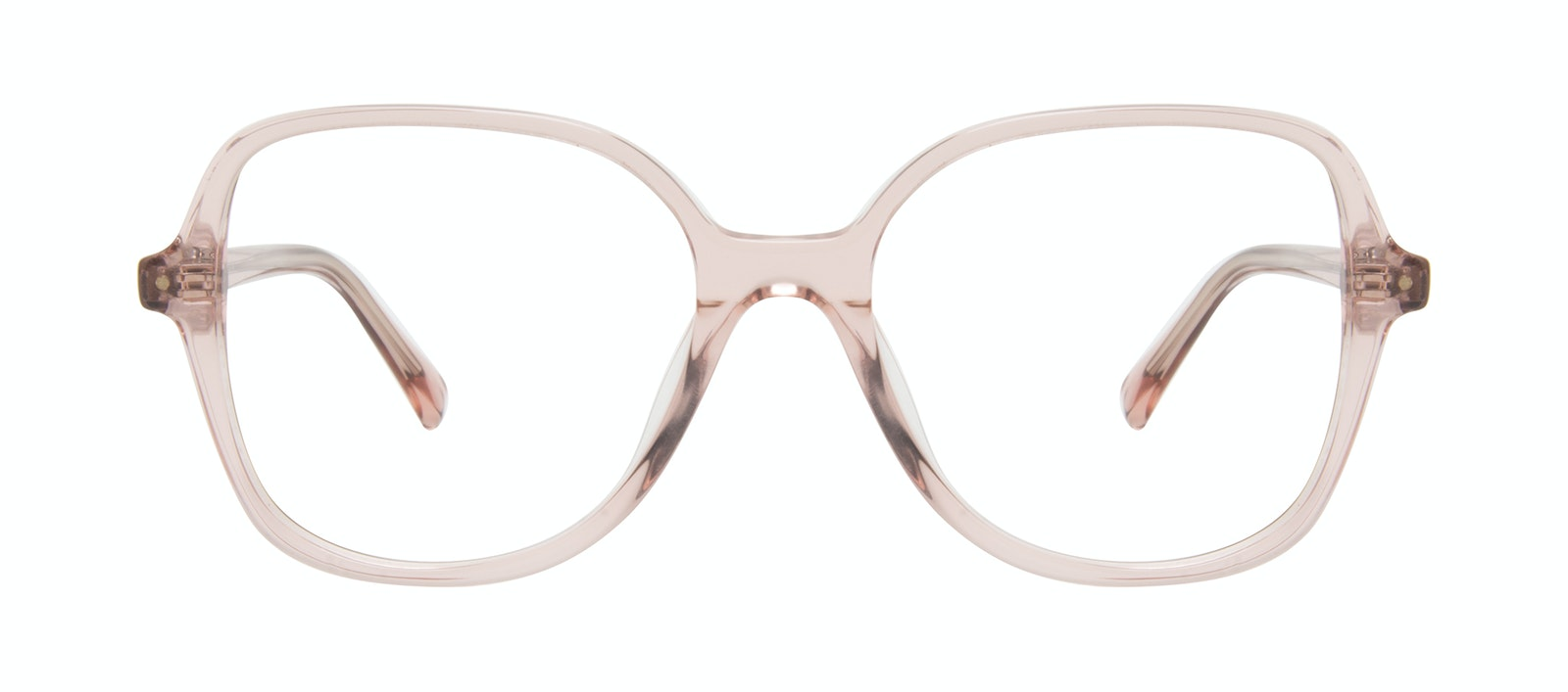 Affordable Fashion Glasses Square Eyeglasses Women Scene Rose Front