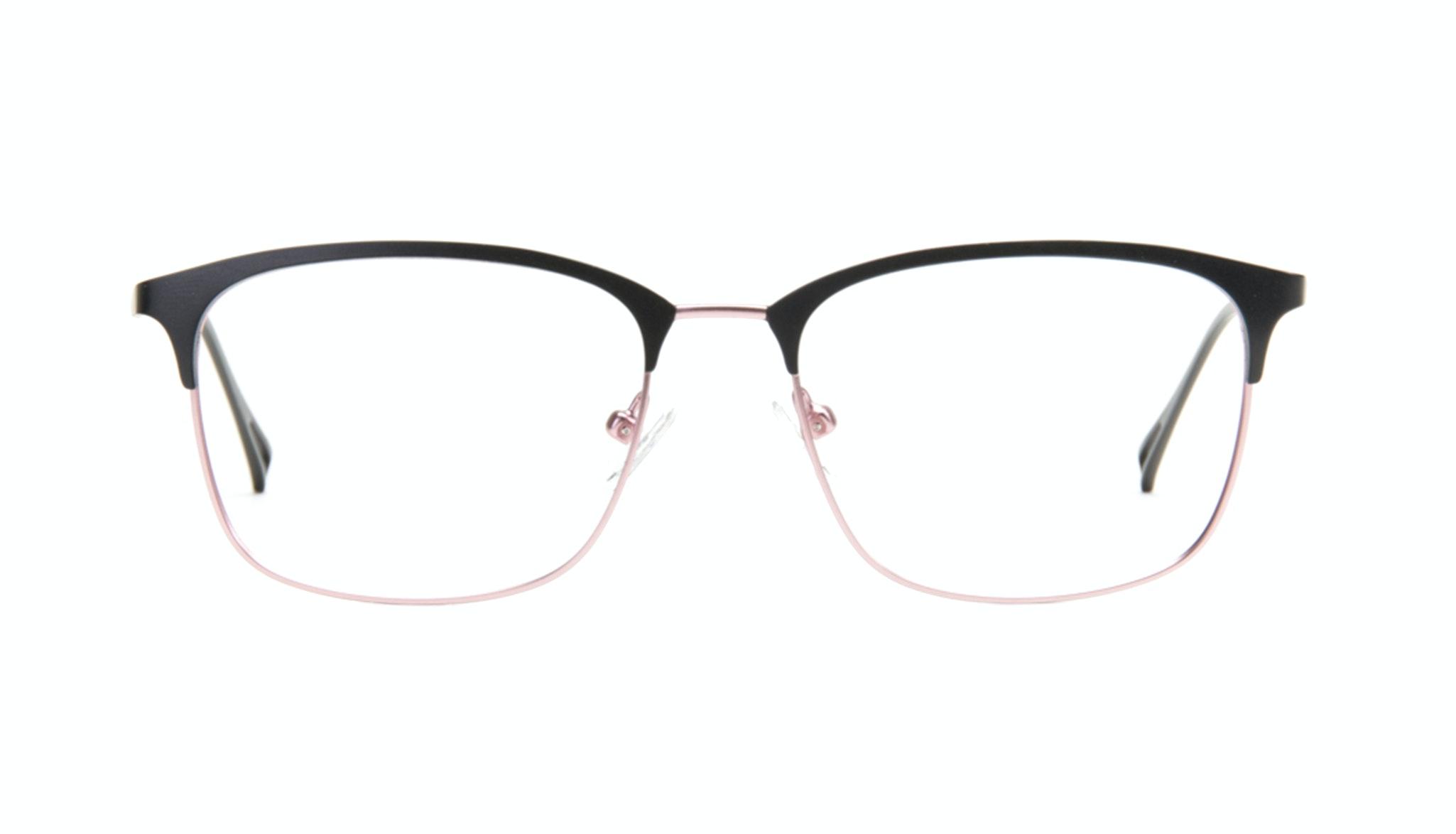 Affordable Fashion Glasses Rectangle Eyeglasses Women Seaside Deep Silver Front