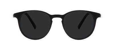 Lunettes tendance Ronde Lunettes de soleil Hommes Select Black Matte Face