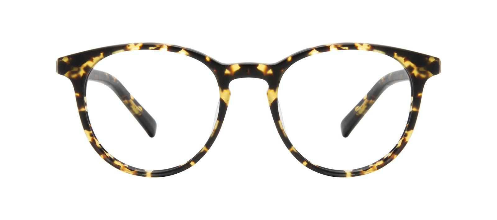 Affordable Fashion Glasses Round Eyeglasses Men Select Tortoise Matte Front