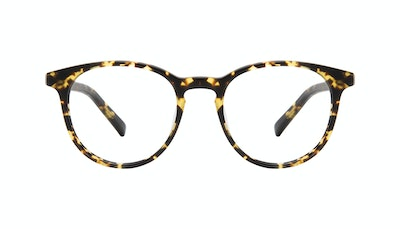 Affordable Fashion Glasses Round Eyeglasses Men Select Tortoise Matte Front