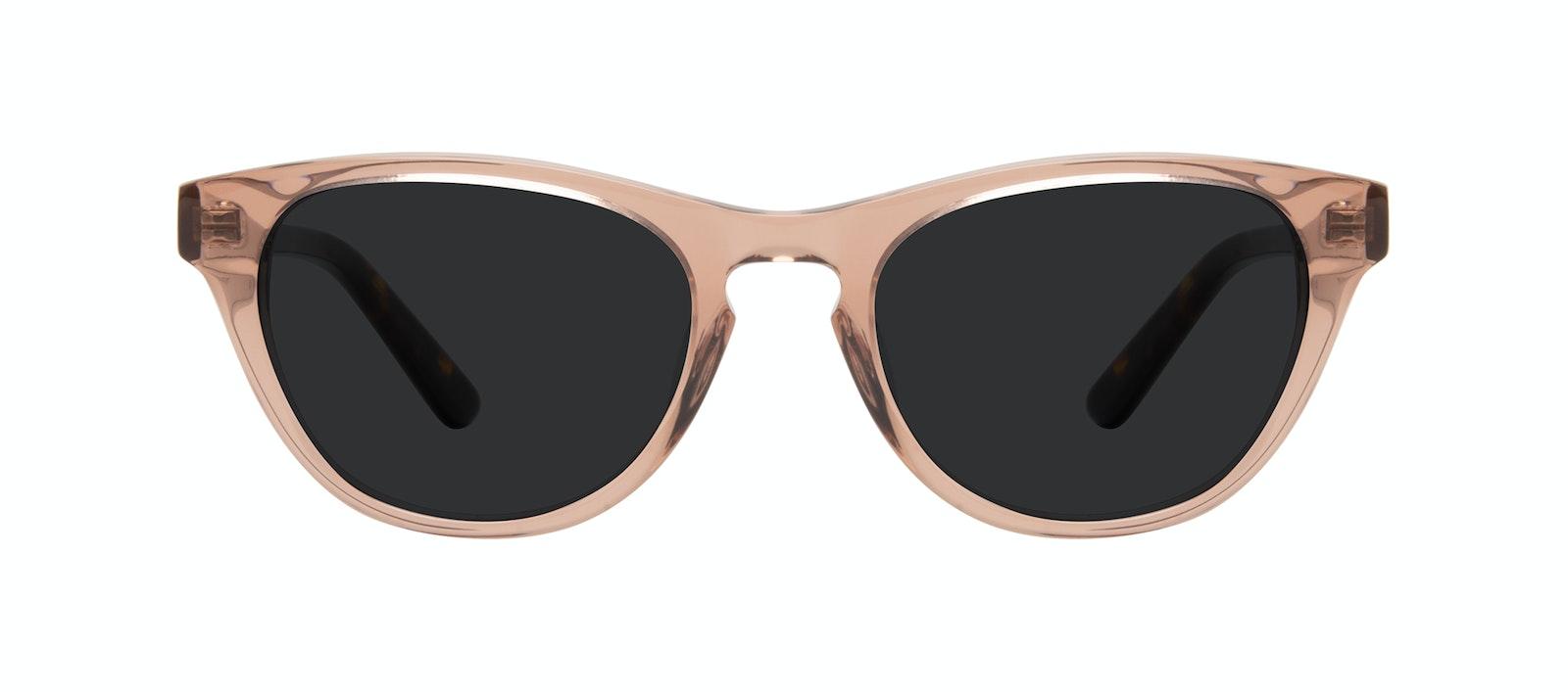 Affordable Fashion Glasses Cat Eye Sunglasses Women Selfie Rose Front