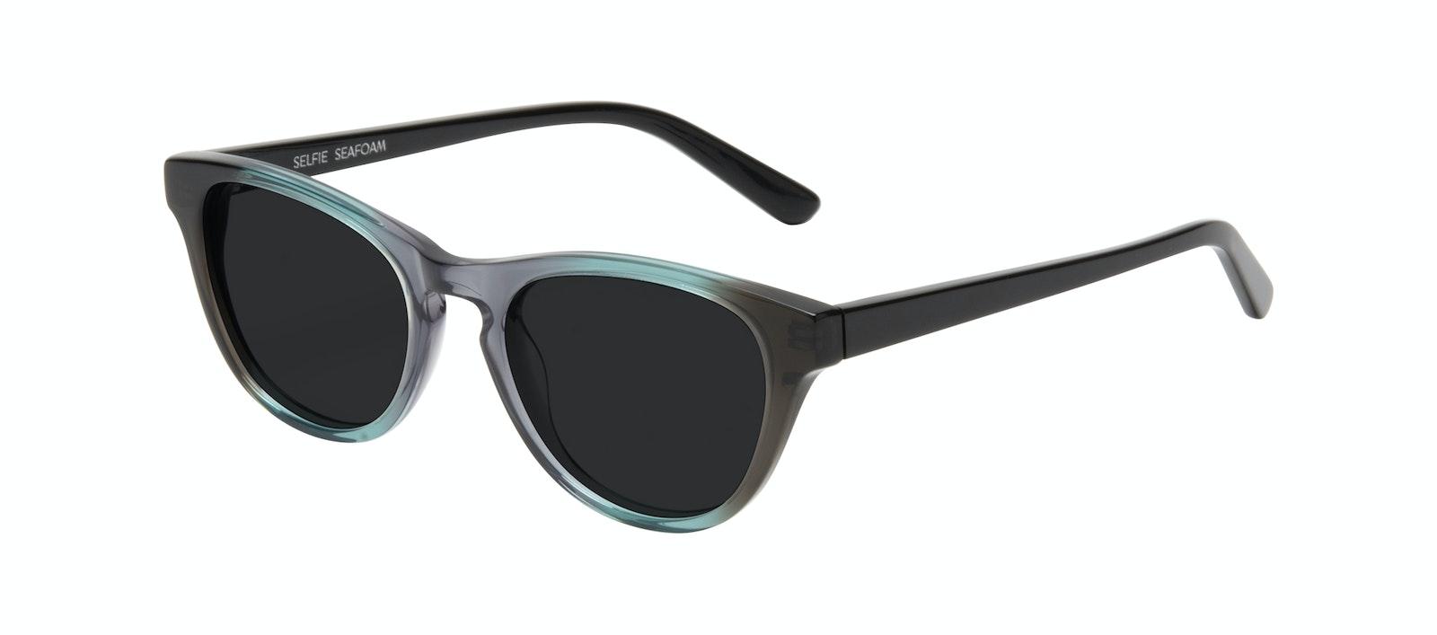 Affordable Fashion Glasses Cat Eye Sunglasses Women Selfie Seafoam Tilt