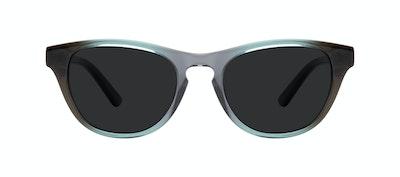 Lunettes tendance Oeil de chat Lunettes de soleil Femmes Selfie Seafoam Face