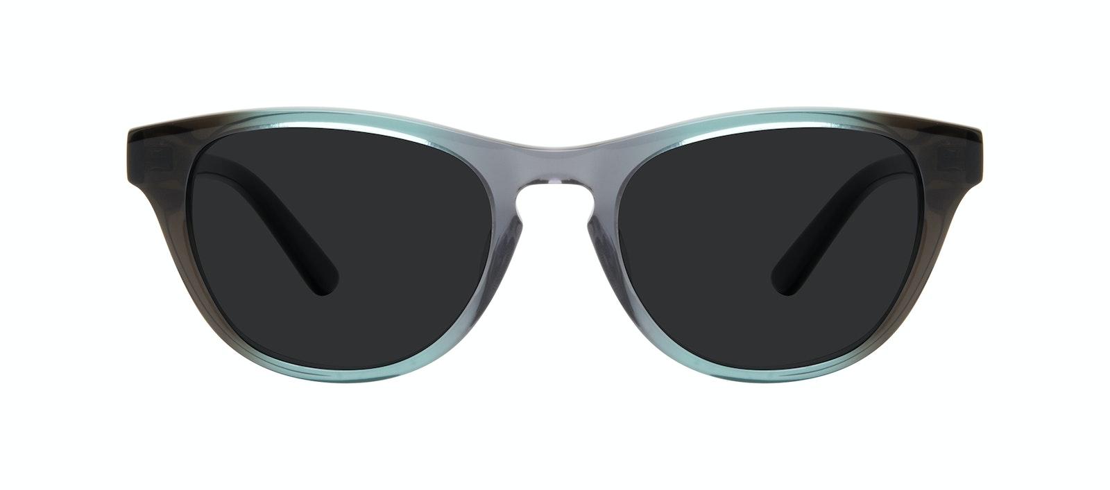 Affordable Fashion Glasses Cat Eye Sunglasses Women Selfie Seafoam Front