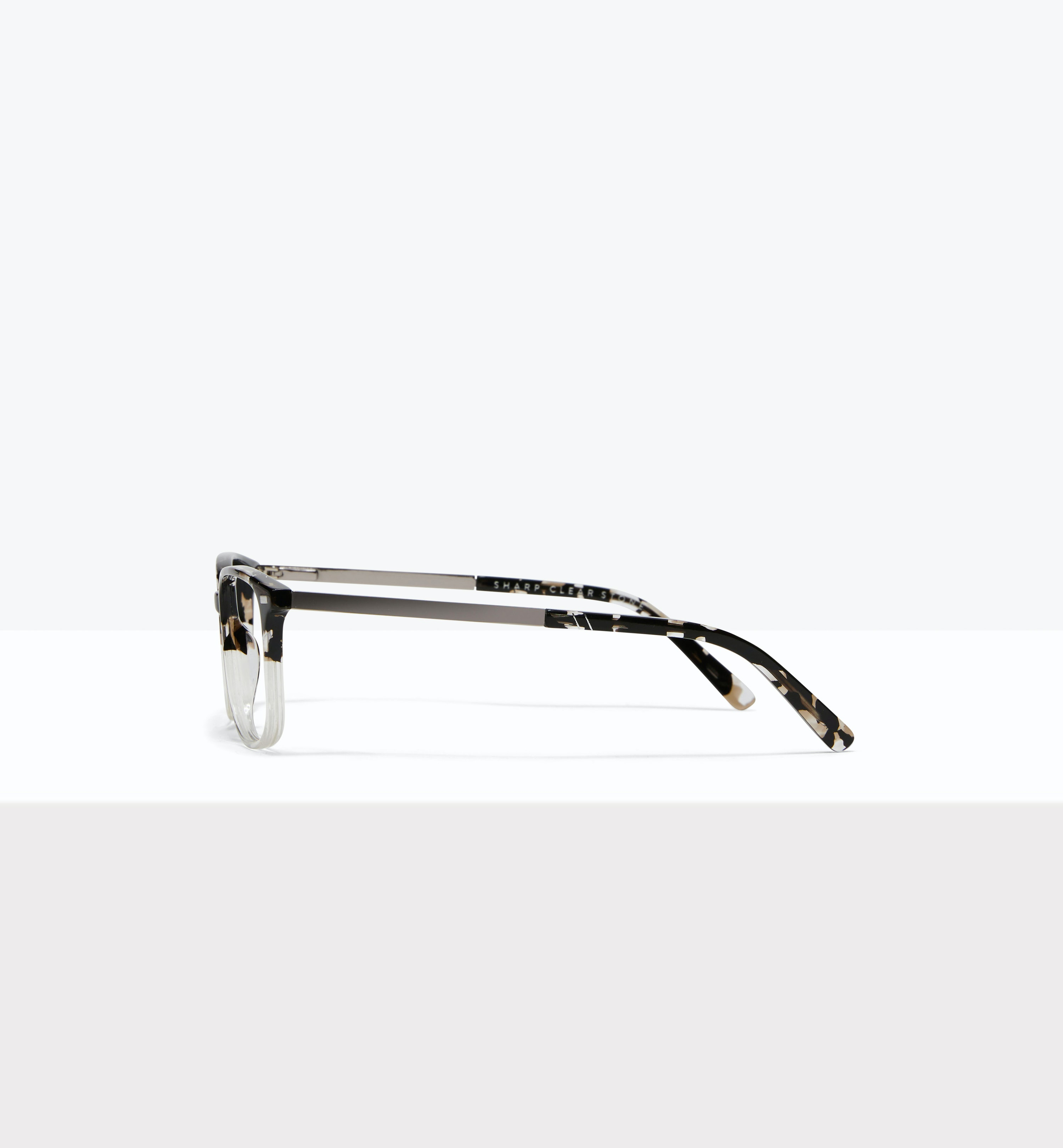 Affordable Fashion Glasses Rectangle Eyeglasses Men Sharp Clear Stone Side