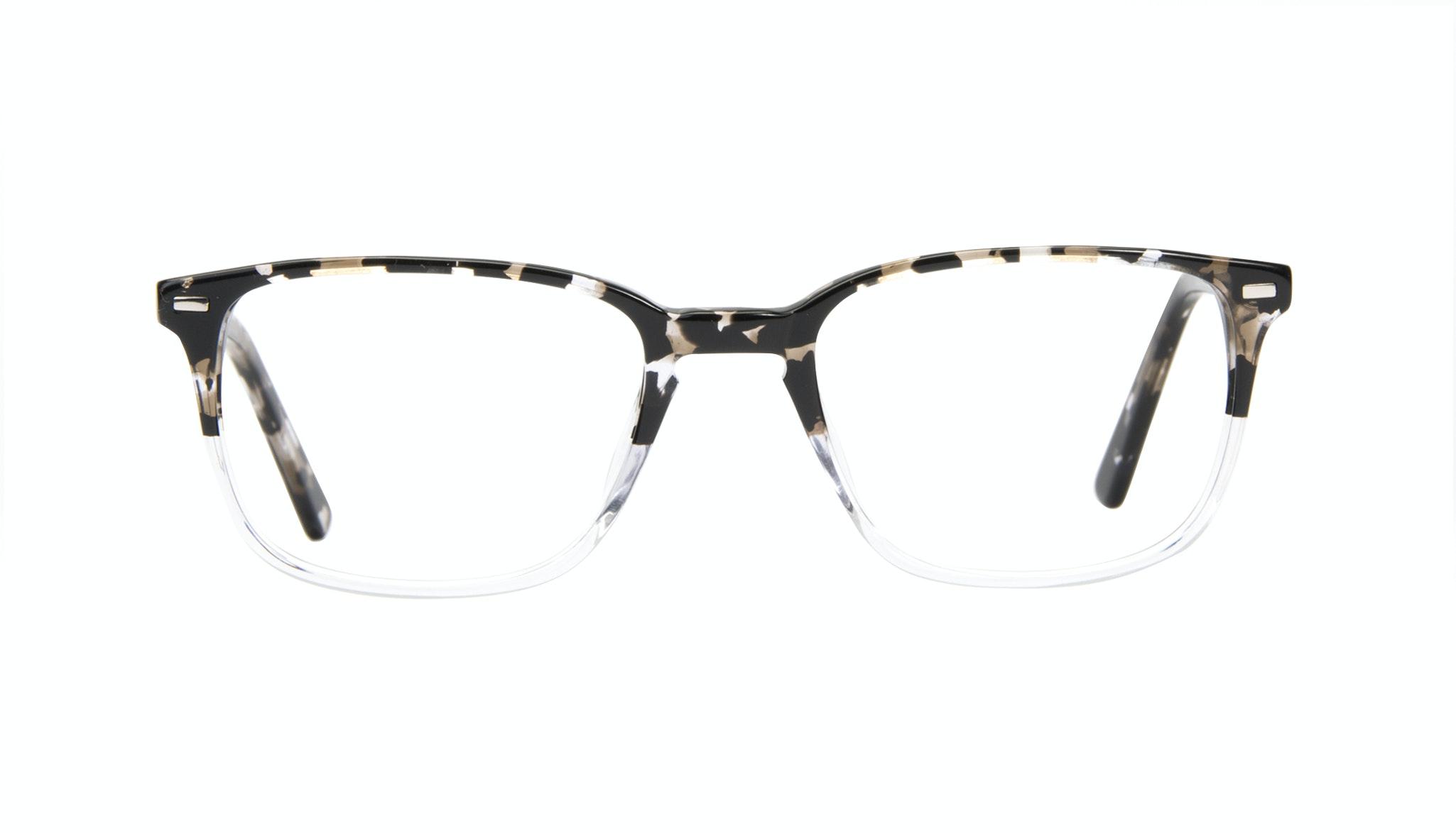 Affordable Fashion Glasses Rectangle Eyeglasses Men Sharp Clear Stone