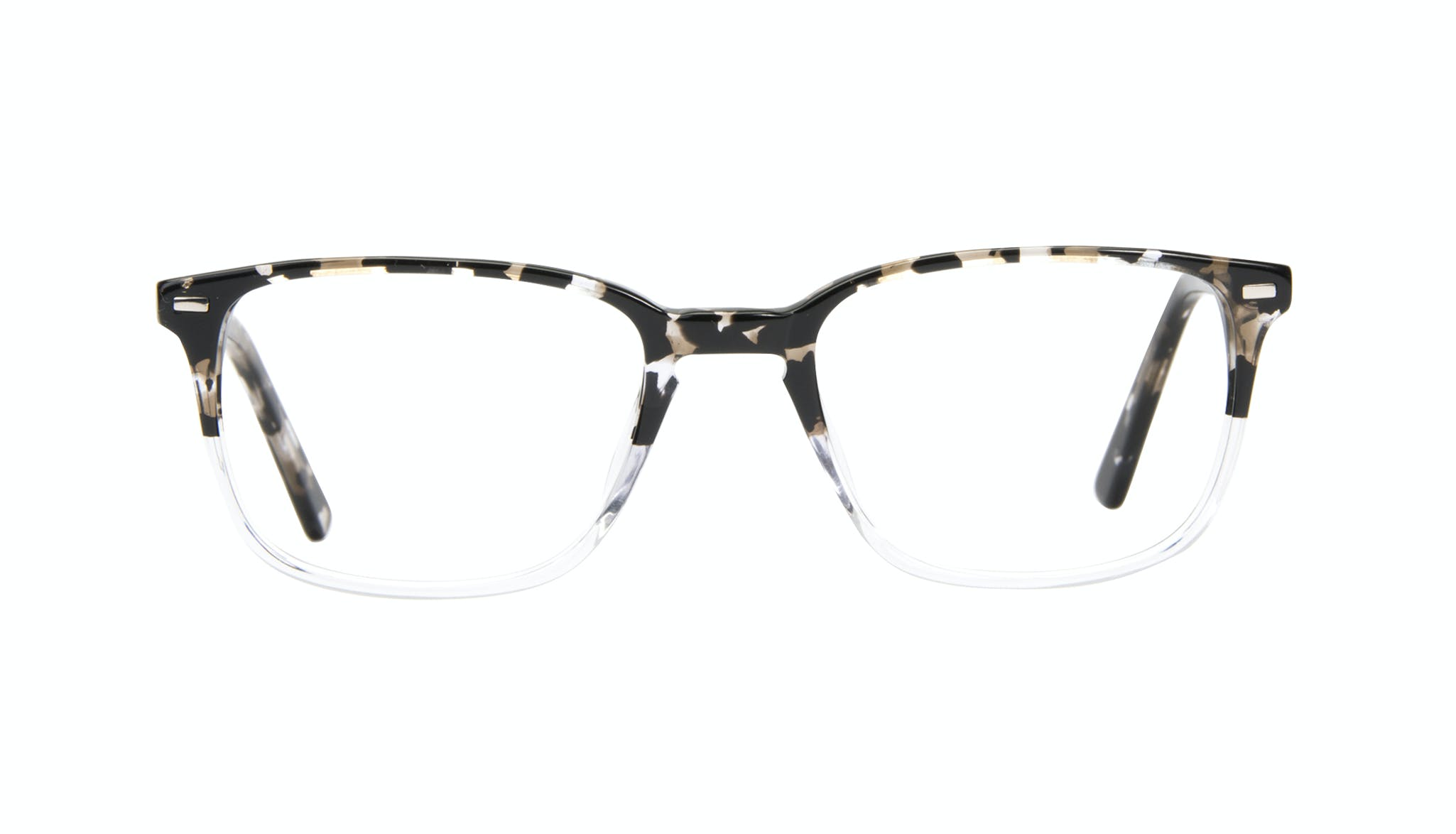 Affordable Fashion Glasses Rectangle Eyeglasses Men Sharp Clear Stone Front