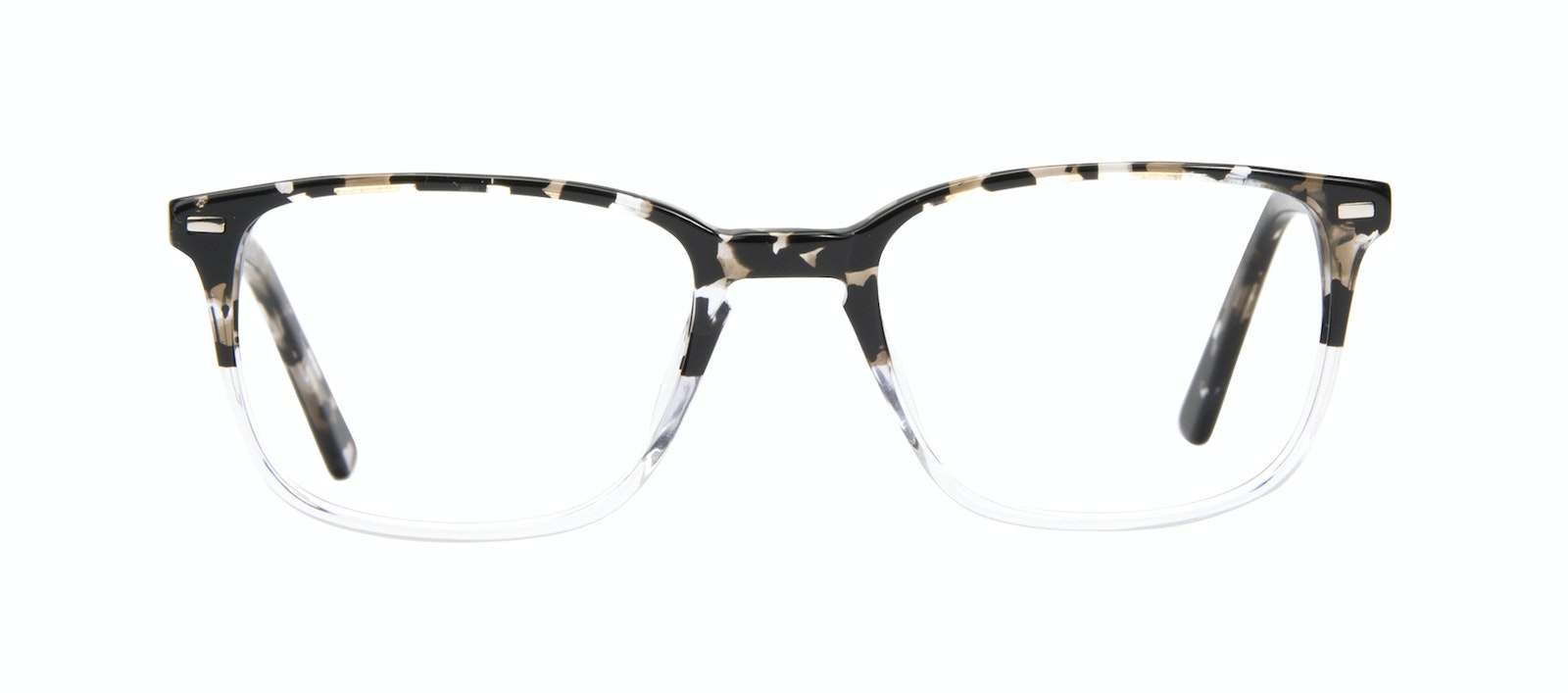 556d207e1cc2 Affordable Fashion Glasses Rectangle Eyeglasses Men Sharp Clear Stone Front