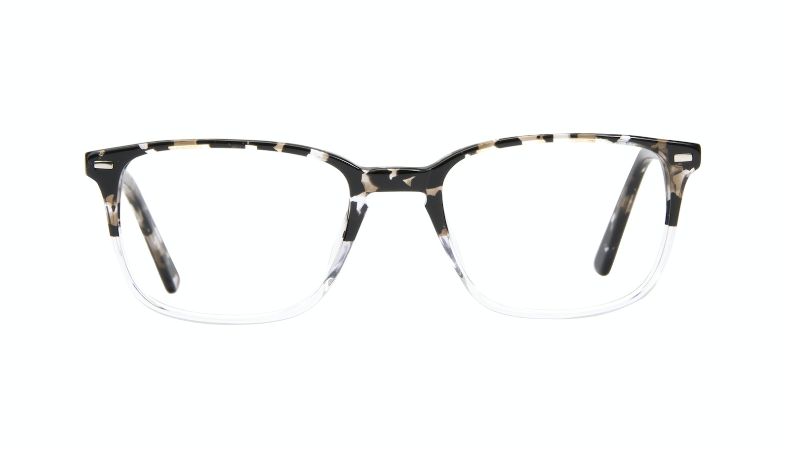 Affordable Fashion Glasses Rectangle Eyeglasses Men Sharp Clear Stone