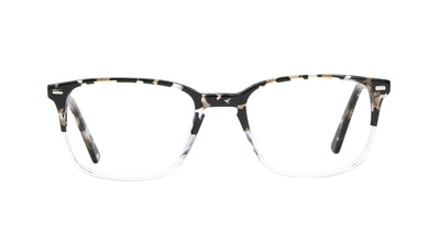 Affordable Fashion Glasses Rectangle Eyeglasses Men Sharp Clear Stone Front