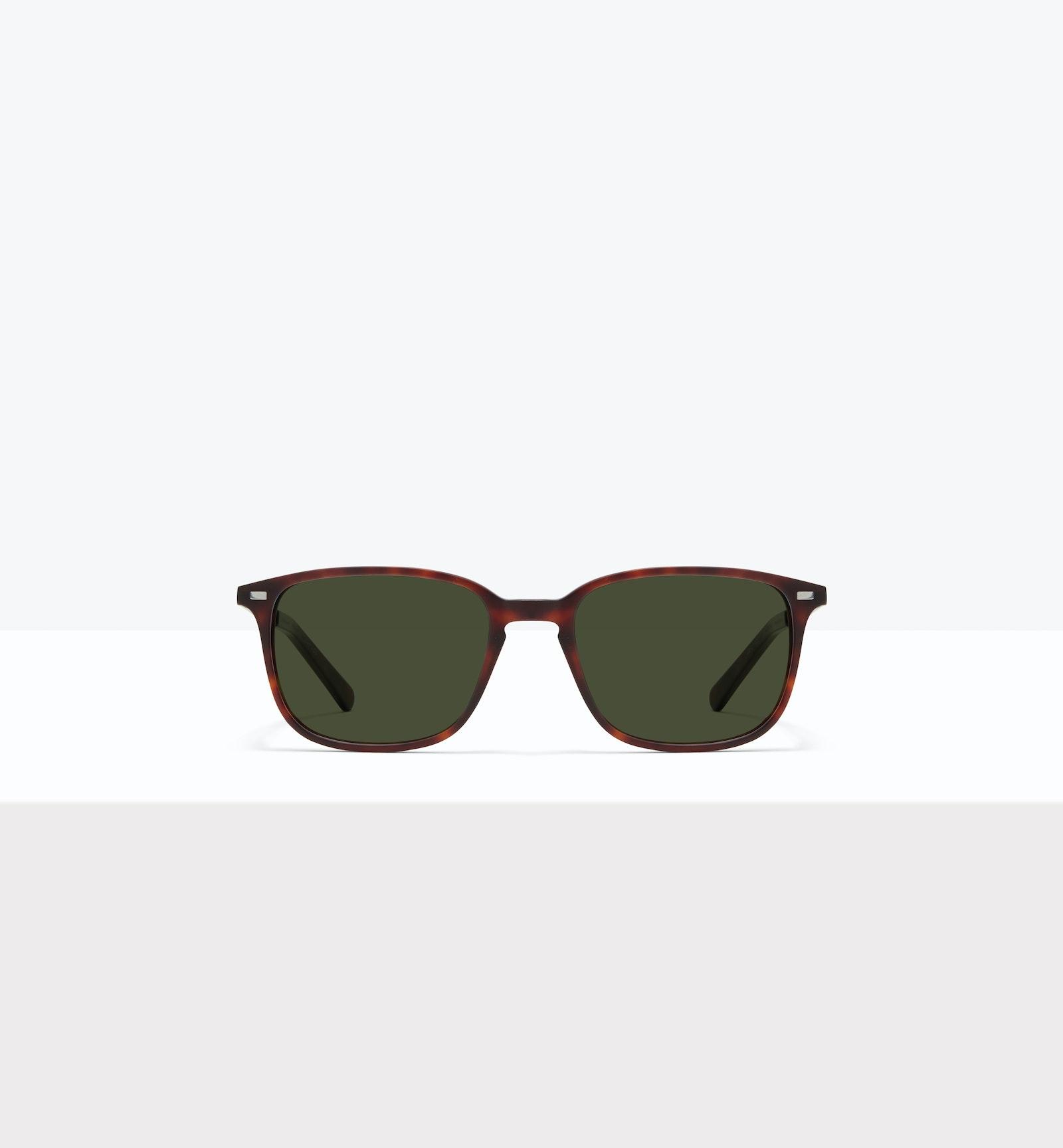 Affordable Fashion Glasses Rectangle Sunglasses Men Sharp S Matte Tort