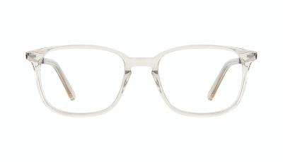 Affordable Fashion Glasses Rectangle Eyeglasses Men Sharp L Olive Front
