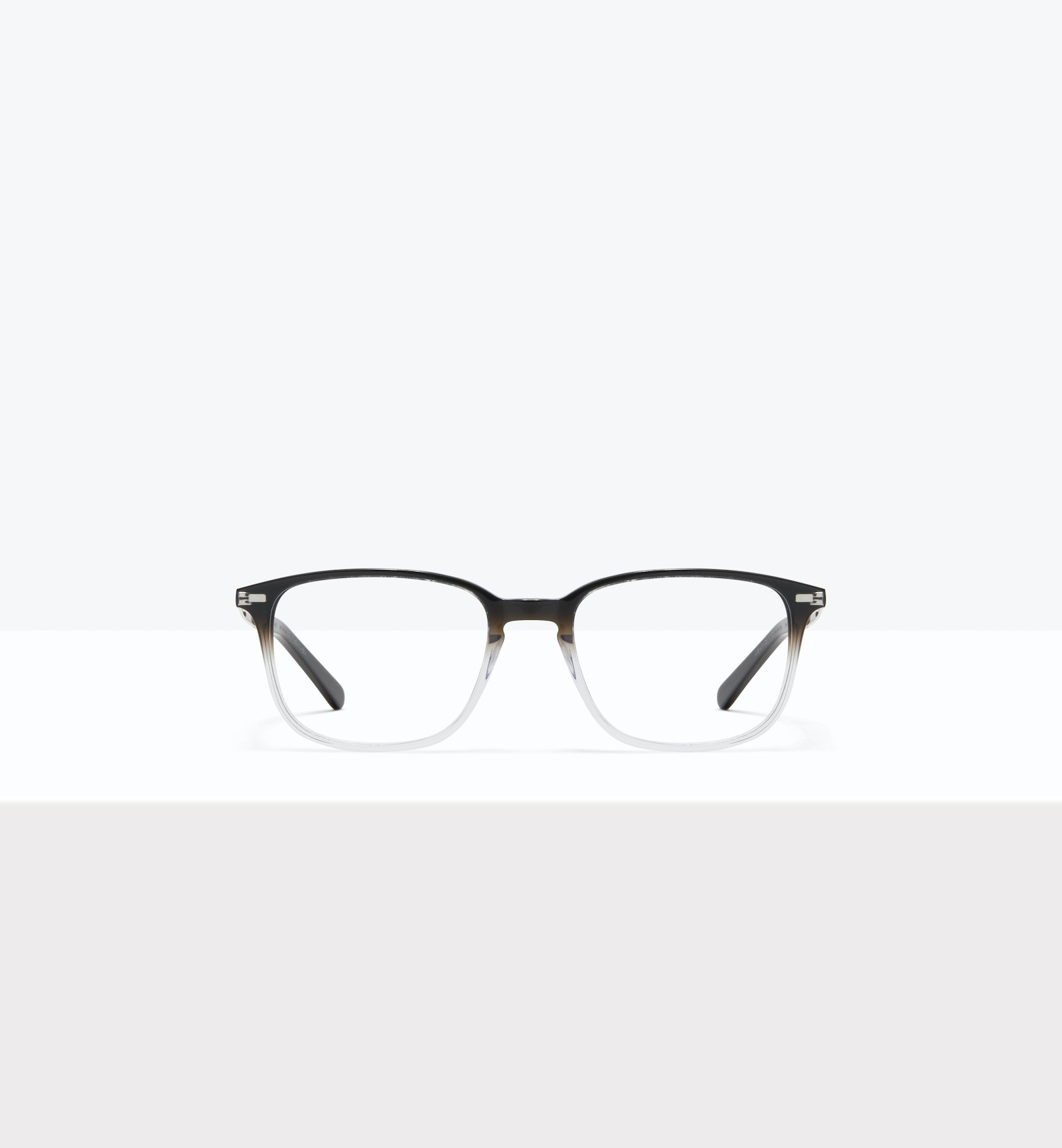 Affordable Fashion Glasses Rectangle Eyeglasses Men Sharp L Onyx Clear