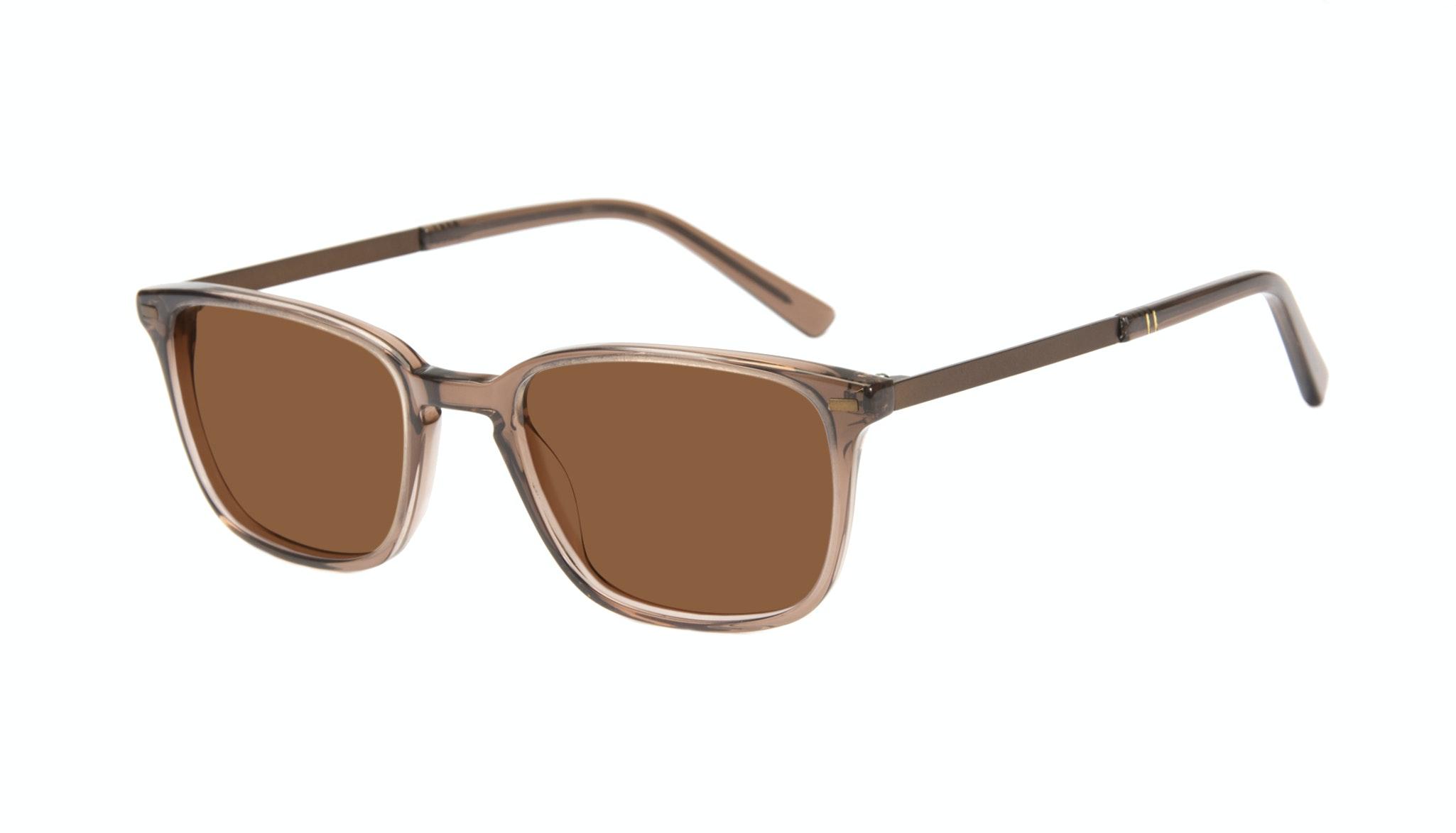 Affordable Fashion Glasses Rectangle Sunglasses Men Sharp Terra Tilt