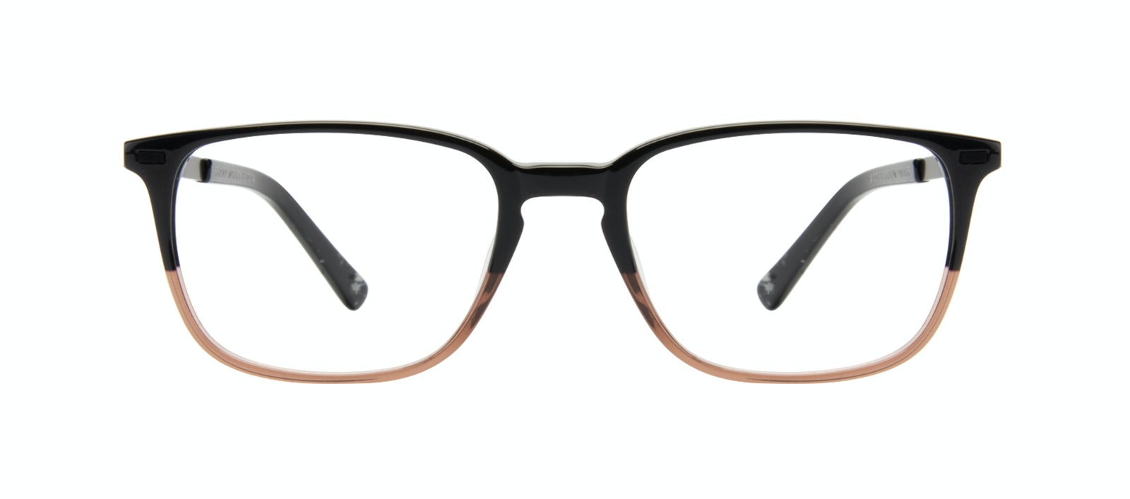 Affordable Fashion Glasses Rectangle Eyeglasses Men Sharp L Wood Terra Front