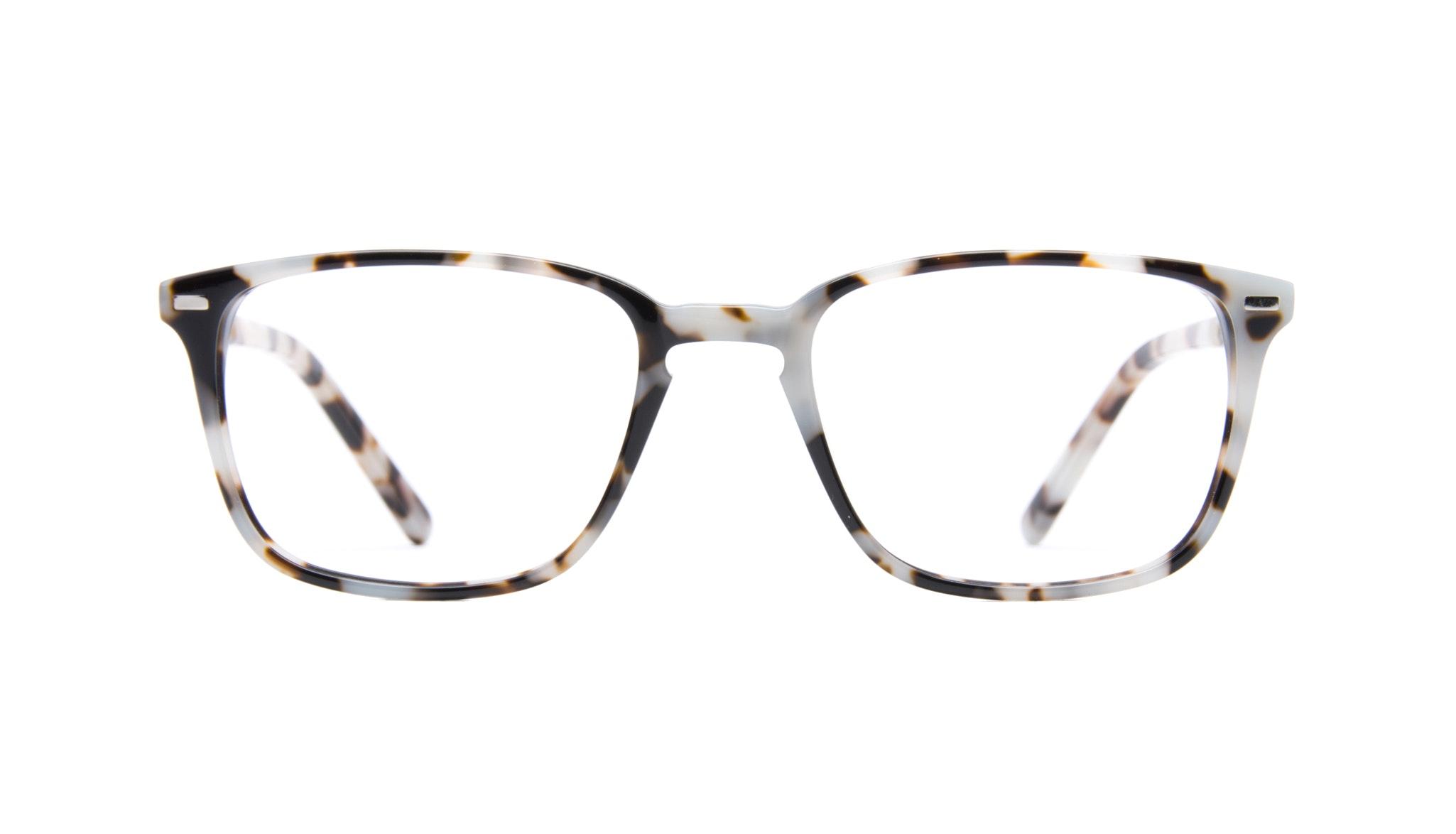 Affordable Fashion Glasses Rectangle Eyeglasses Men Sharp Stone Front