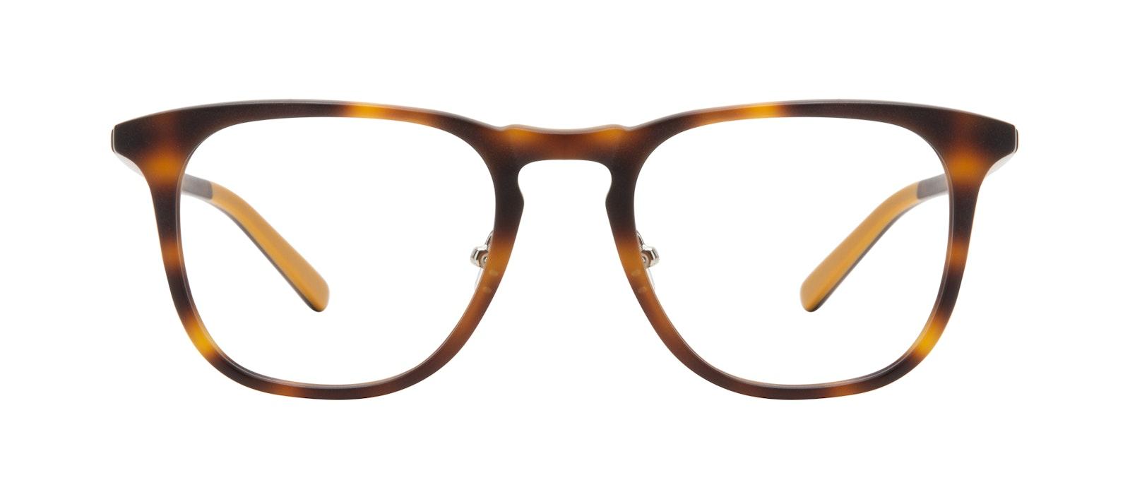 Affordable Fashion Glasses Square Eyeglasses Men Shore Tortoise Matte Front